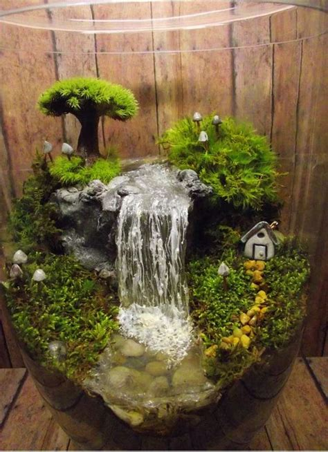 diy indoor waterfall 25 adorable miniature terrarium ideas for you to try 3393