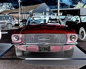 '68 Ford Mustang Convertible Photograph by Alan Goldberg