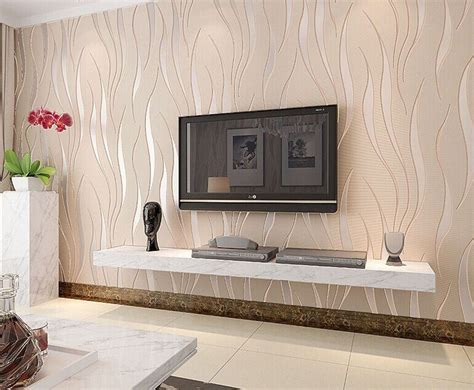 3d Wallpaper Texture For Bedroom by 3d Wave Texture Wallpaper Bedroom Room Modern Non Woven