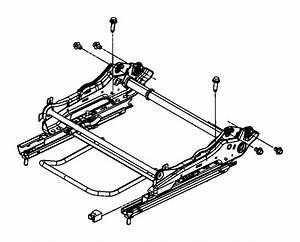 Dodge Grand Caravan Seat Adjuster  Manual  Tracks