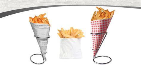fry cones  bags deluxe packaging