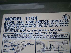 Intermatic T 104 Wiring Diagram