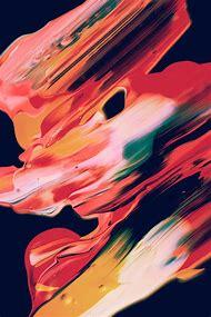 Digital Abstract Art Painting