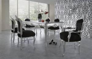 Set De Table Argenté : table et chaises baroque ~ Teatrodelosmanantiales.com Idées de Décoration