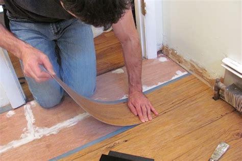 installing vinyl flooring wood how to install vinyl plank flooring bob vila