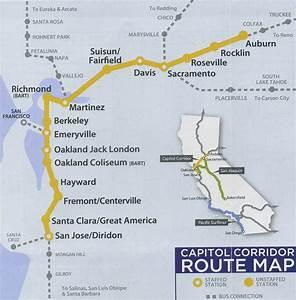 Capitol Corridor Map