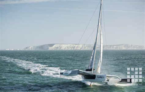 Trimaran World Speed Record by Maxi Trimaran Lending Club 2 Sets New Speed Sailing World