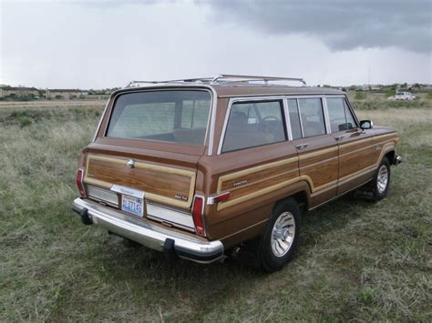 amc jeep 1985 amc jeep grand wagoneer for sale