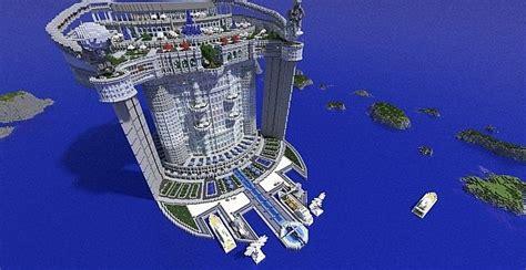 skyscraper teamhouse minecraft building