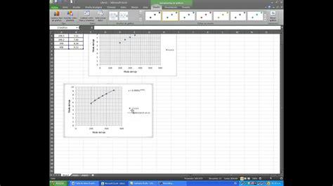 grafica en escala logaritmica en excel youtube