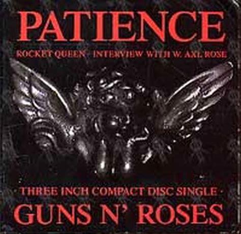 Patience (cd, Single / Ep)