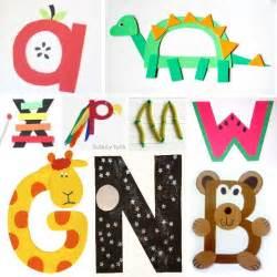 Alphabet Letter Craft for Preschoolers