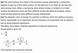 Ncert Class 12 Physics Chapter 11 Dual Nature Of Radiation