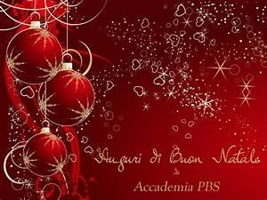 Auguri Di Buon Natale Da Accademia Pbs
