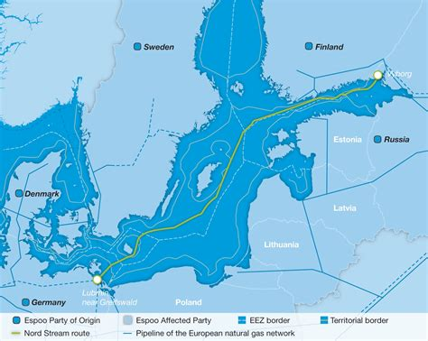 nord stream pipeline   transboundary context