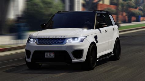 Land Rover Range Rover Sport Modification by Range Rover Sport Replace Lods Gta5 Mods