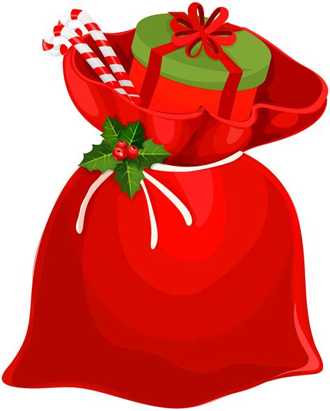 red santa sack for babies pictures santa bag png clip image gallery yopriceville high quality images and