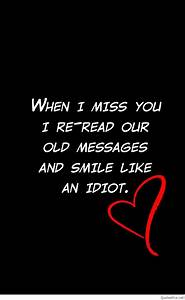 I miss you imag... Miss Some1 Quotes