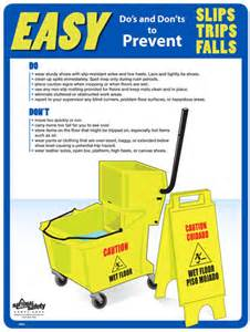 Slip Trip and Fall Safety Topics