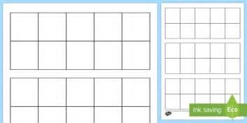 letter t in cursive blank ten frame activity sheet ten frame place value number