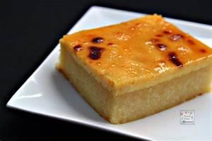 Cassava Cake with Creamy Custard Topping | Manila Spoon