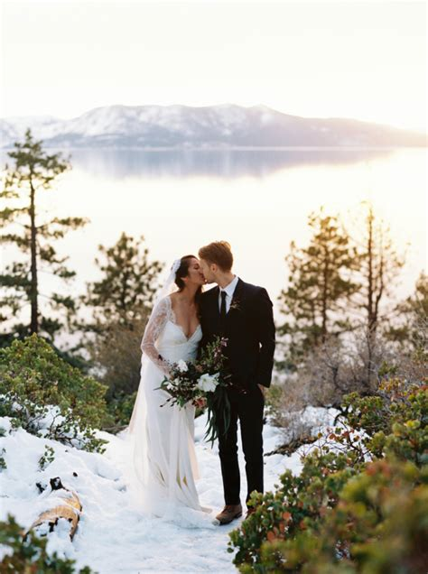lake tahoe winter elopement west shore lake tahoe