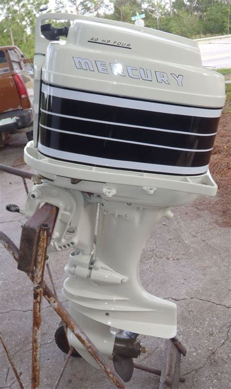 Mercury Outboard Motors Made by Mercury Outboards 40 Antique Merc 350 40hp