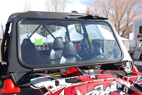ryfab polaris rzr xp  glass fold