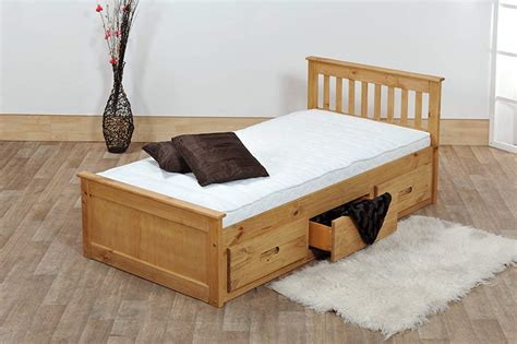 Beds With Drawers by Storage Drawers Single Bed With Storage Drawers