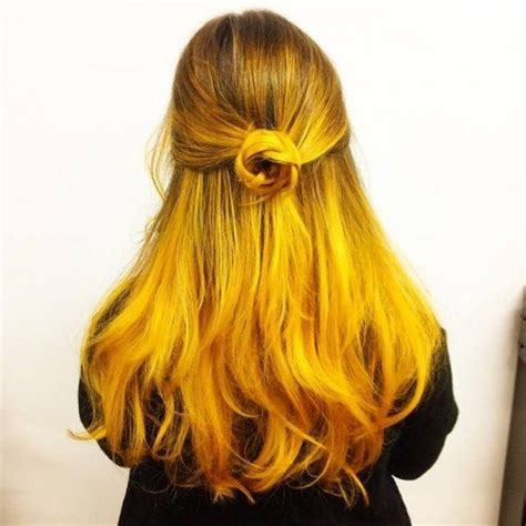 Black And Yellow Hair Color by Diy Hair 15 Orange And Yellow Hair Color Ideas Hubpages