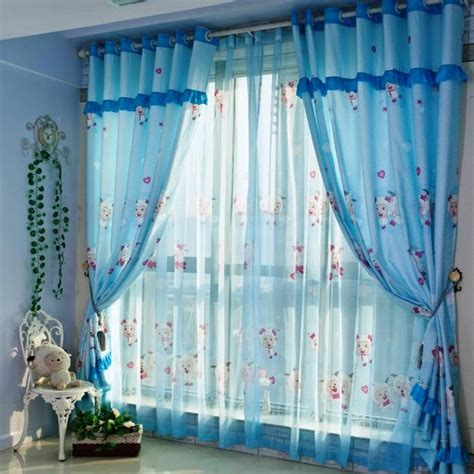 awesome colorful kids bedroom curtain design rilane