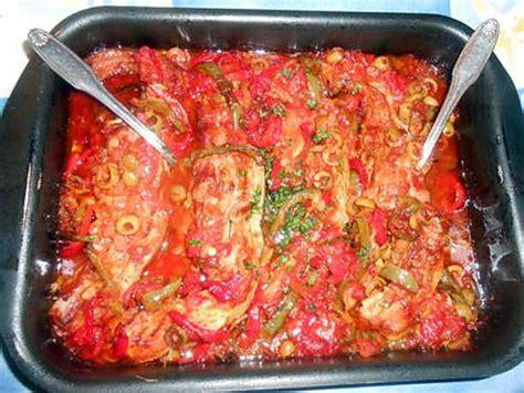 cuisiner des tendrons de veau recette de tendrons de veau au poivrons et olives