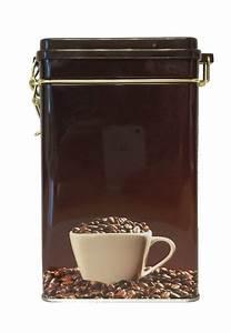 Boite à épices : boite caf herm tique en m tal tasse 250g ~ Teatrodelosmanantiales.com Idées de Décoration