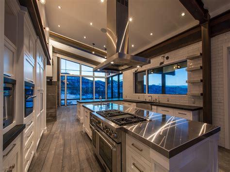 kitchen  sloped ceiling modern kitchen