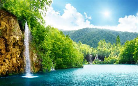 nature waterfall    windows  wallpaper hd hd wallpapers wallpapers
