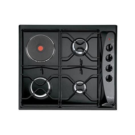 plaque de cuisson mixte gaz 233 lectrique whirlpool