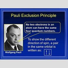 17+ Best Ideas About Pauli Exclusion Principle On Pinterest  Chemistry Wiki, Periodic Elements