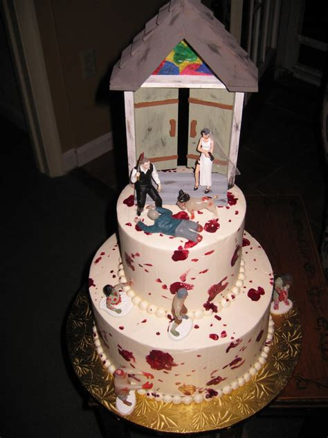 zombie wedding cakes decoration ideas  birthday