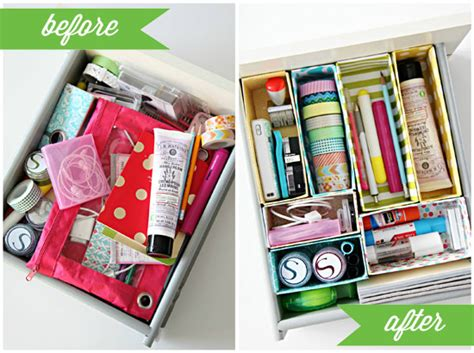 diy cereal box drawer dividers blomming blog about tutorials