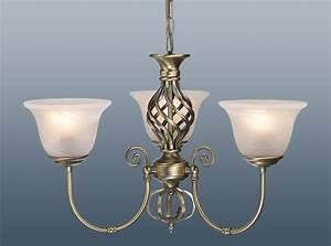 Arm chandelier ceiling pendant light fitting glass