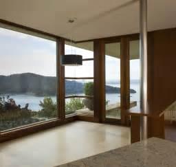 House Corner Floor to Ceiling Windows