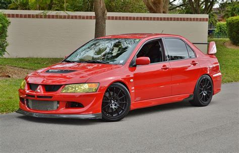 Mitsubishi Lancer Evo 9 For Sale by 2003 Mitsubishi Lancer Evolution Evo 8 Turbo Awd Real