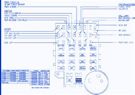 30a Circuit Breaker Wiring Diagram by Gmc S 15 1988 Fuse Box Block Circuit Breaker Diagram
