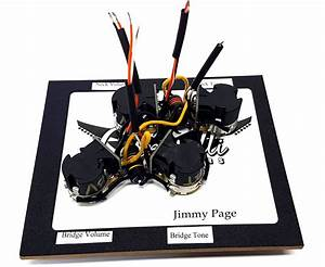 Jimmy Page Wiring Harness  Push Pull Version