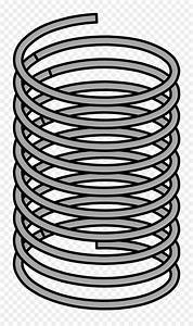 Coil spring Clip art - sprin png download - 1435*2400 ...