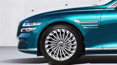 Genesis Electrified G80 sedan dumps the gas engine for ...