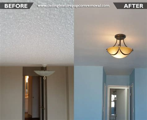 ceiling texture popcorn removal give a look to your home