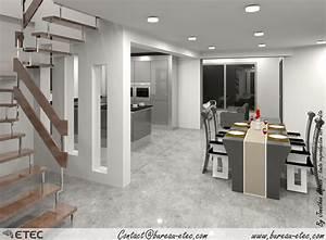 plan maison 4 chambres etage 13 maison toit terrasse With plan de maison moderne 4 maison contemporaine rouvre etec
