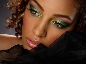 Maquillage Mariage Yeux Vert : maquillage peau noire vert maquillage peau noire sur ~ Nature-et-papiers.com Idées de Décoration