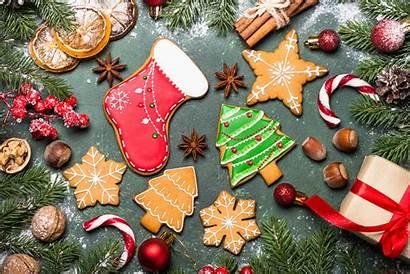 Christmas Bakery Wallpapers 4k Celebrations Backgrounds Desktop